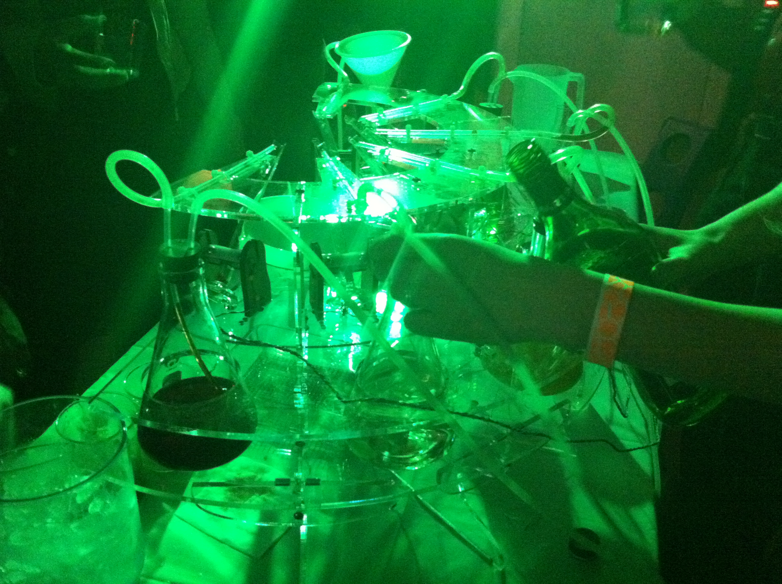 Drinking In The Future at Barbot SF 2012