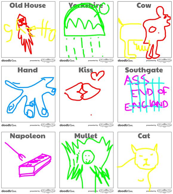 Collaborative Digital Drawing Game, Doodlr