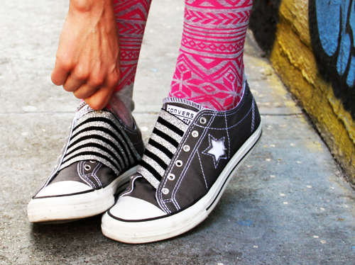 How-To: Convert Your Converse in to Slip On Shoes