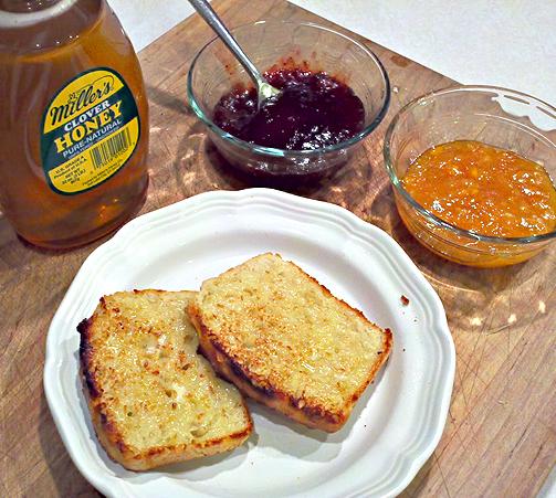 Recipe: English Muffin Bread
