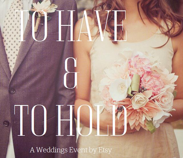 Etsy's Wedding Event