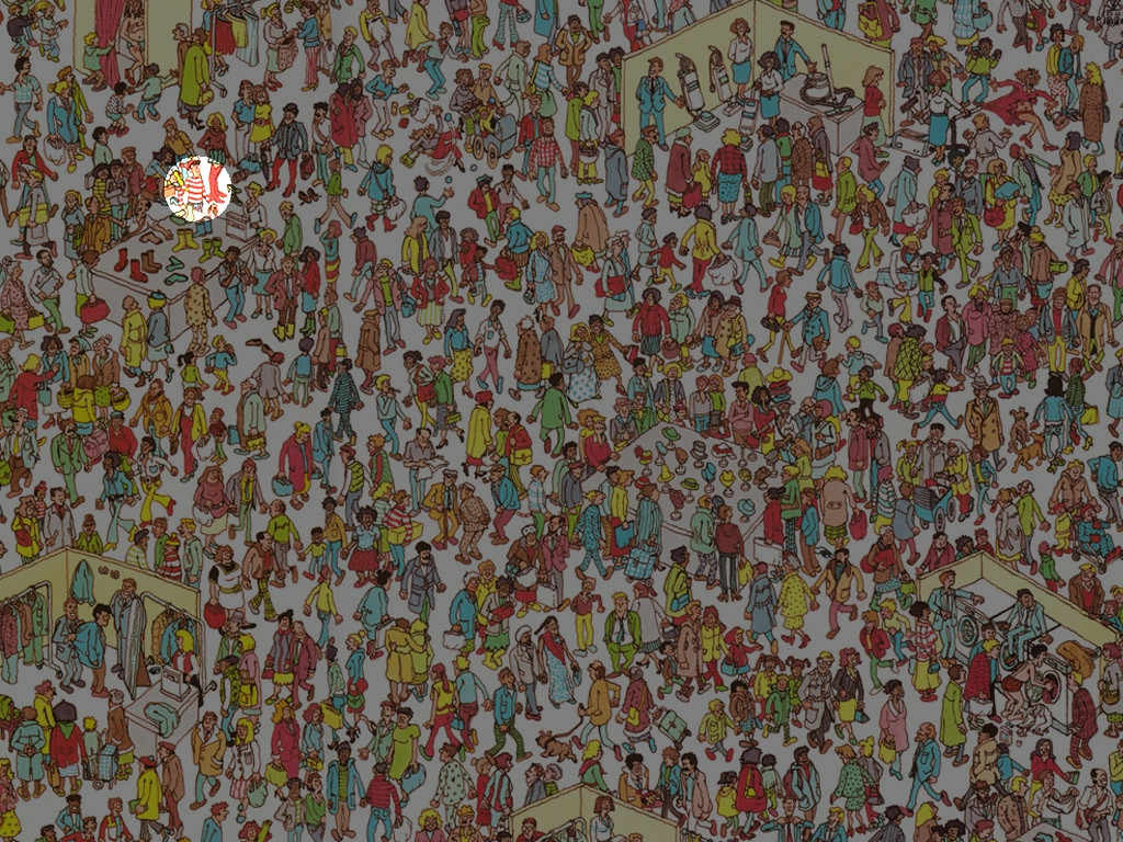 Where's Waldo? Let's Ask Mathematica
