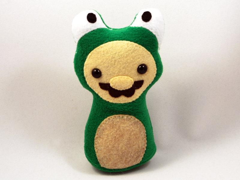 Frog Suit Mario Plush