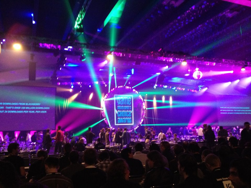 Game Developers Choice Awards are LIVE!