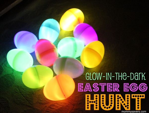 How-To: Host a Glow-in-the-Dark Egg Hunt
