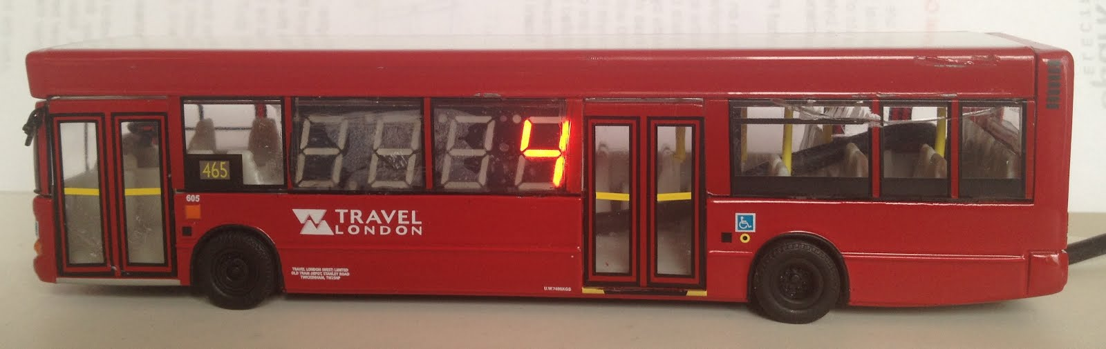 Ambient Bus Arrival Monitor