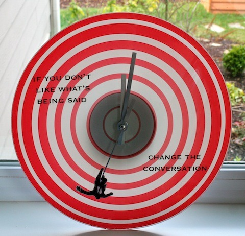 How-To: Mad Men Clock