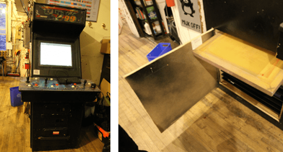 Newly Renovated MAME Cabinet – with Silkscreen Storage!