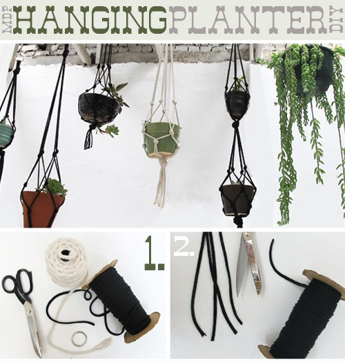 How-To: Hanging Rope Planters