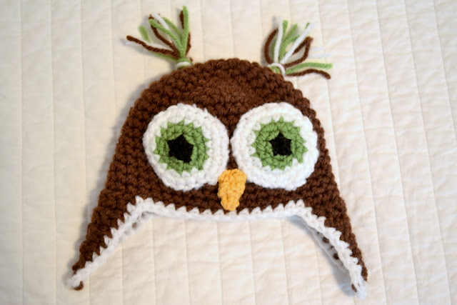 How-To: Crocheted Owl Beanie