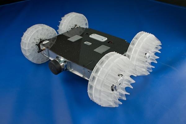 Sand Flea Robot Leaps Thirty Feet