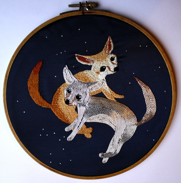 Silver Fox Embroidery