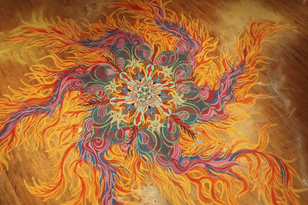 Joe Mangrum Sand Art