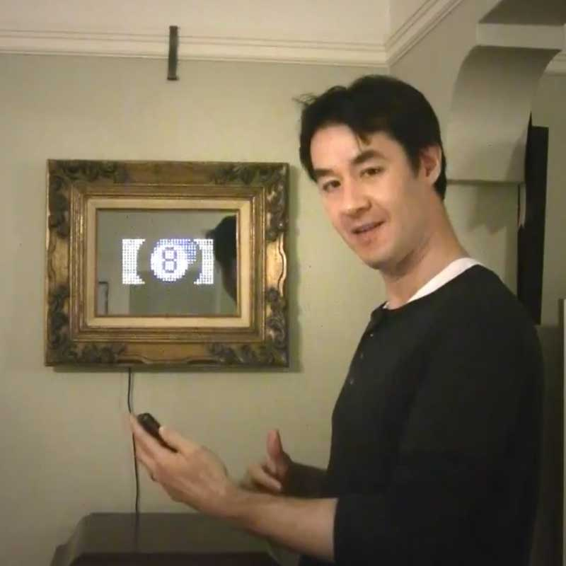 Android Controlled Interactive Mirror Prototype