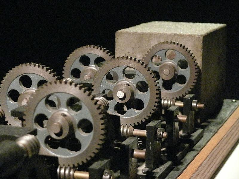 """Arthur Ganson's """"Machine with Concrete"""""""