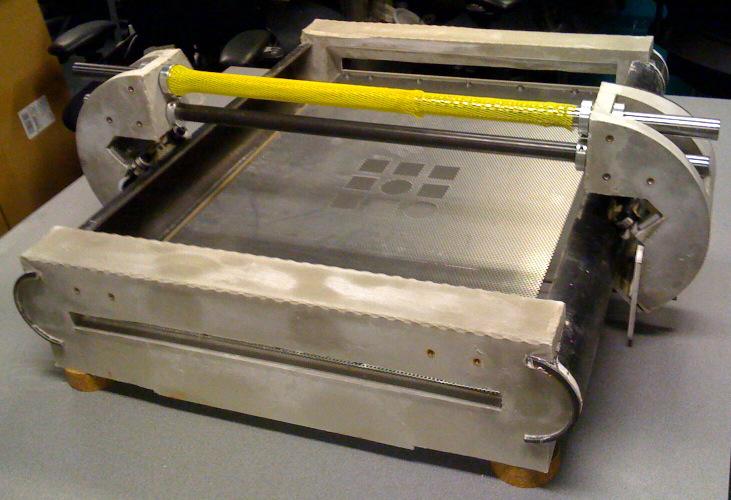 Cast Cement CNC Chassis
