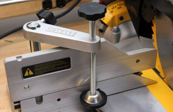 Dewalt DWS780 Miter Saw Hold-Down Clamp | Make: DIY Projects