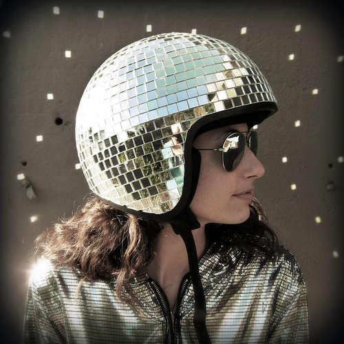 Disco Bike Helmet