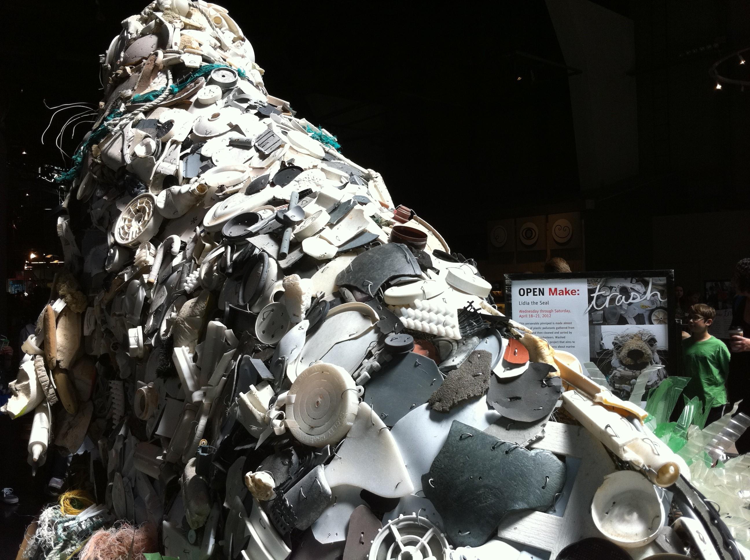 Open MAKE: Celebrating Trash at the Exploratorium