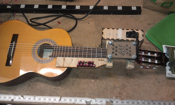 Arduino Mod Lets Disabled Musicians Play Guitar