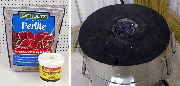 Calcium Aluminate Cement Home Depot : How to homemade castable refractories make