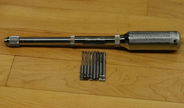 Tool Review: Garrett Wade Yankee Push Drill