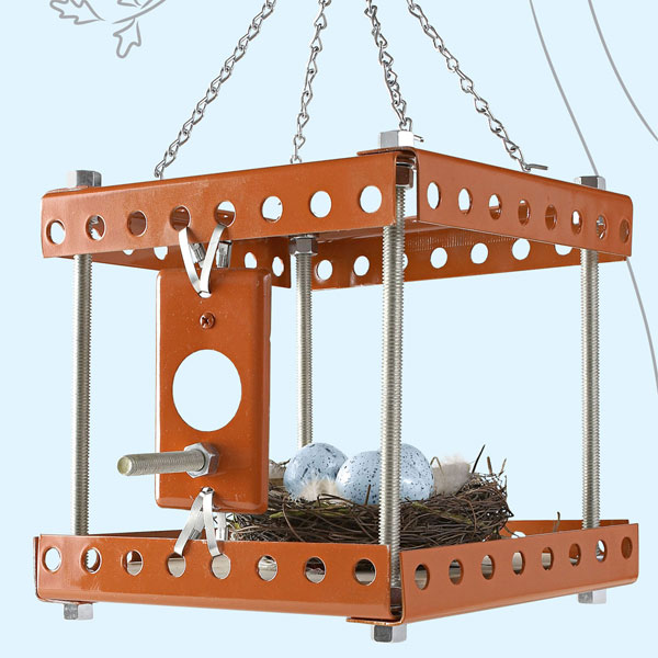 Industrial Birdhouse
