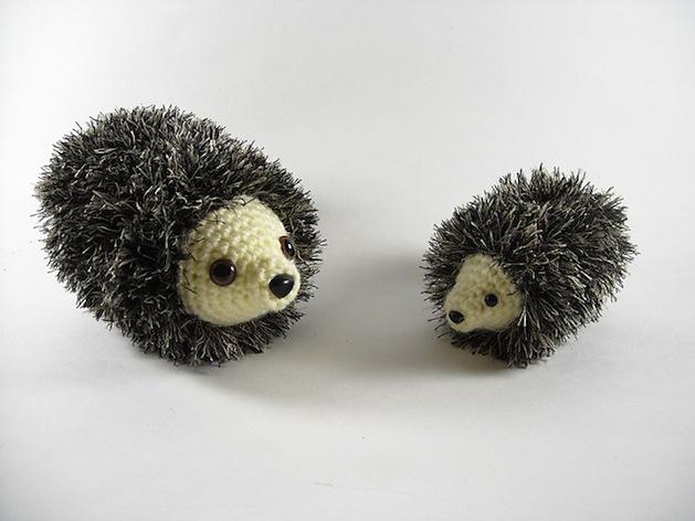 How-To: Amigurumi Crocheted Hedgehog