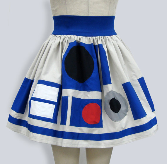 Star Wars R2D2 Skirt