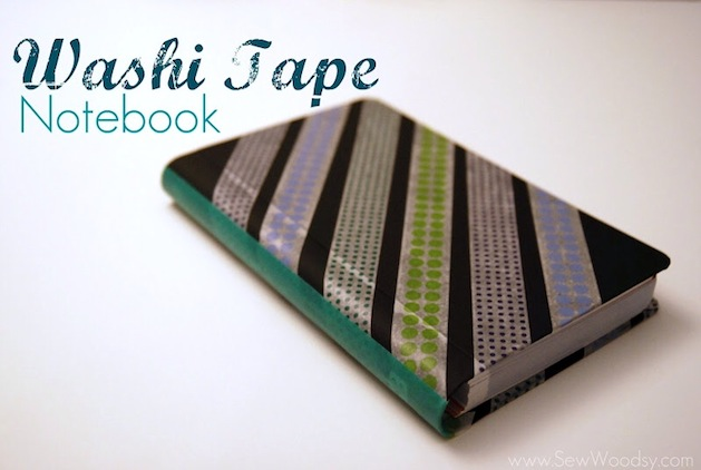 How-To: Washi Tape Notebook