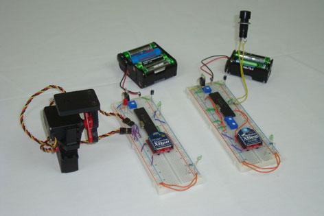 DIY Wireless Pan-and-Tilt System
