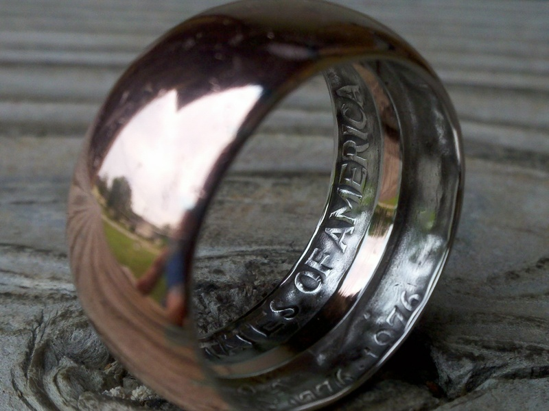 Hammered Coin Ring Make