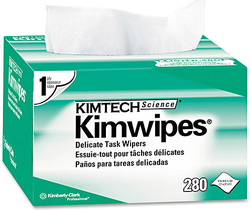Tool Review: Kimwipes Delicate Task Wipers