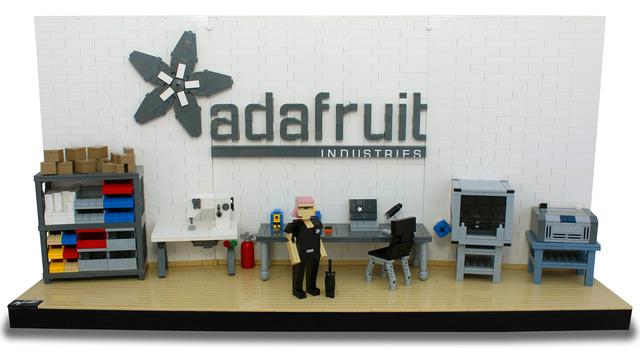 Lego Cuusoo Ladyada's Workshop Set