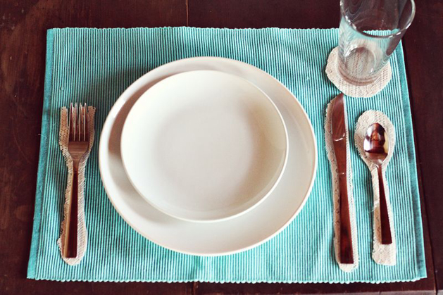 DIY Place Setting Placemat