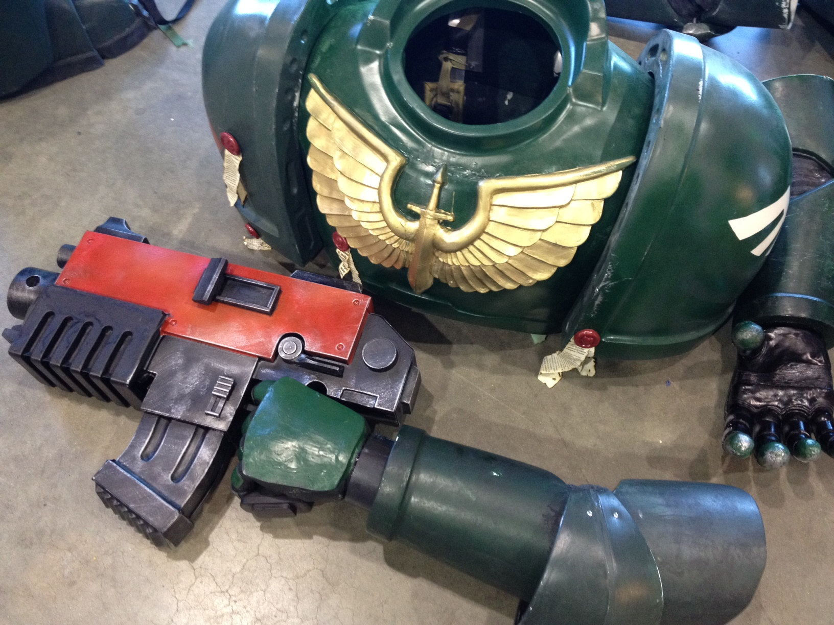 Shawn Thorsson's Incredible Space Marine Armor