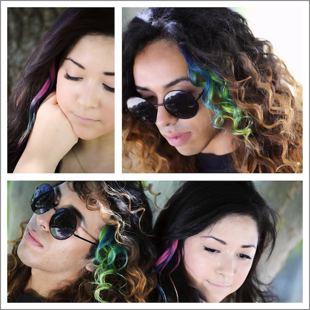 How-To: Tie Dye Hair Extensions