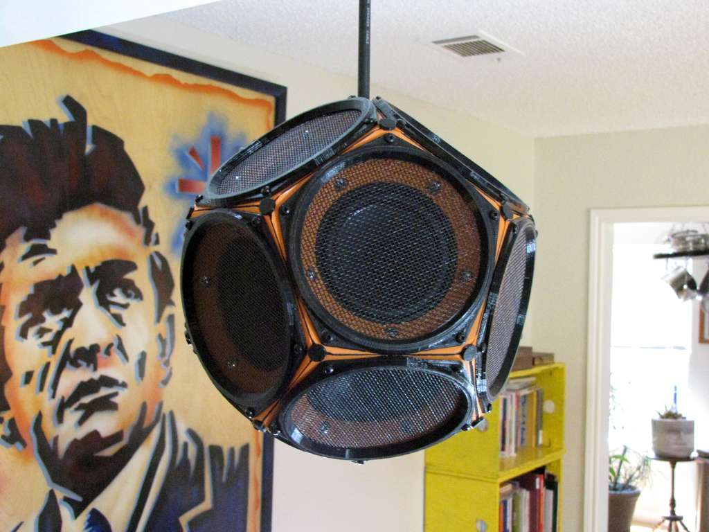 Dodecahedron Speaker Delivers Almost Spherical Sound