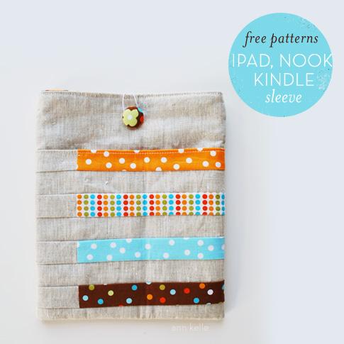 Free Tablet Sleeve Patterns