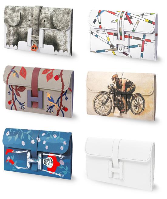 DIY Hermes Paper Purse