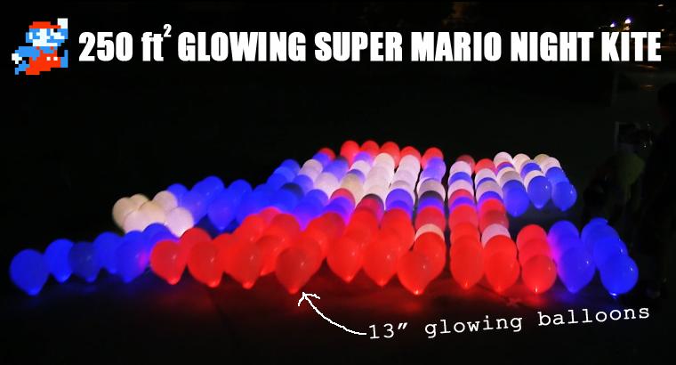 Super Mario Night Kite