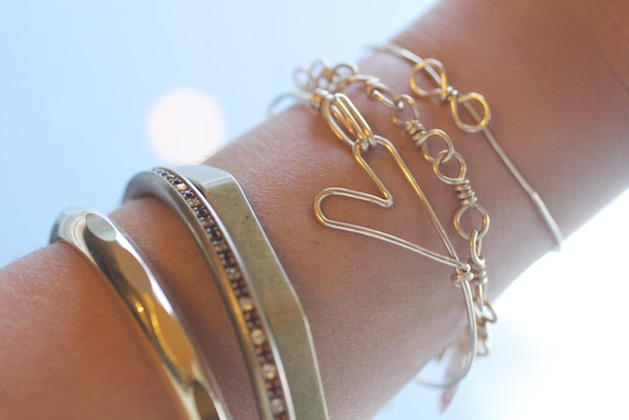 How-To: Wire Heart Bracelet
