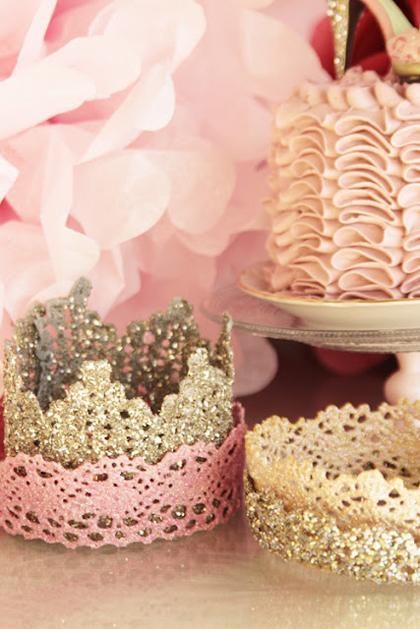 Lace Princess Crowns