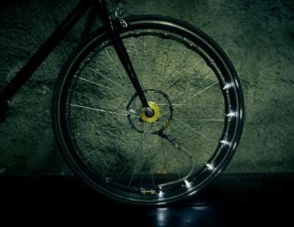 LED-Ring Bike Light