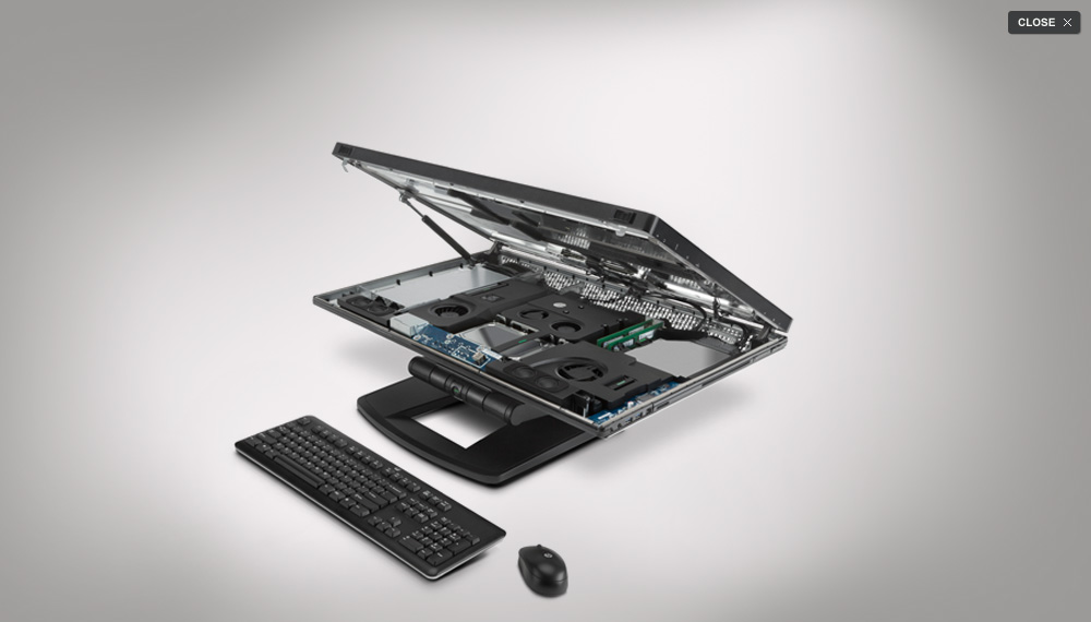 Makey Awards 2012 Nominee 02: HP Z1 Workstation, Most Repairable
