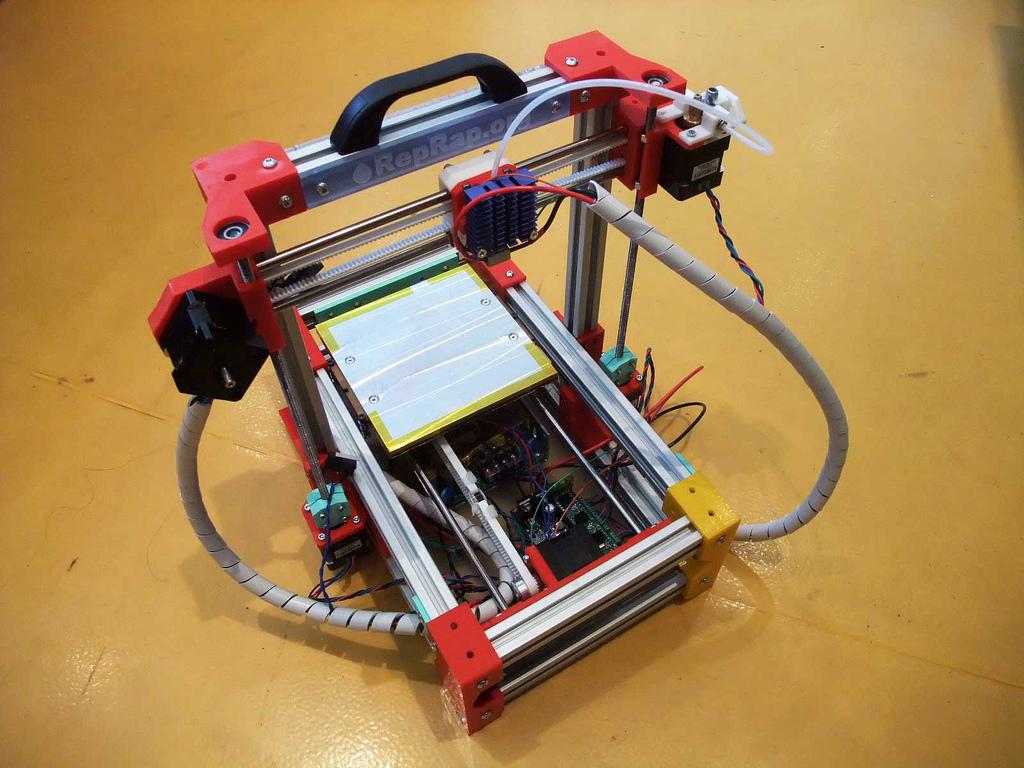 Folding RepRap 3D Printer