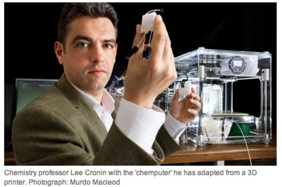 """NEWS FROM THE FUTURE – """"The 'Chemputer' That Could Print Out Any Drug"""""""