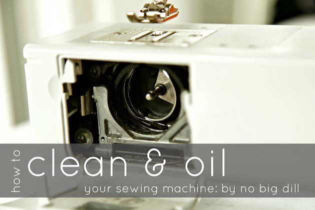 How-To: Clean and Oil a Sewing Machine