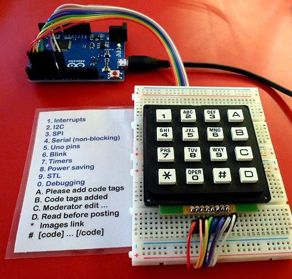 Arduino Forum Quick-typer Uses Arduino, Naturally
