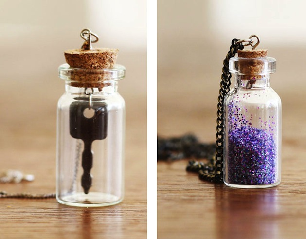 How-To: Mini Bottle Necklaces